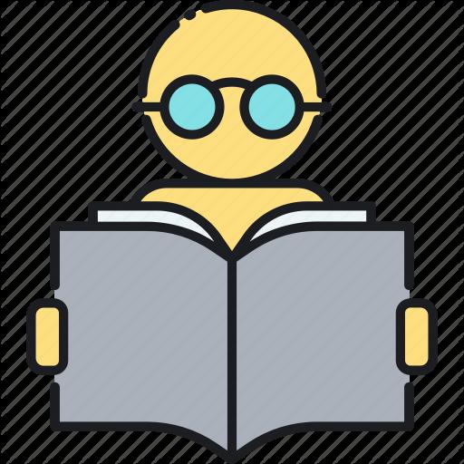 Read, Reading, Study Icon