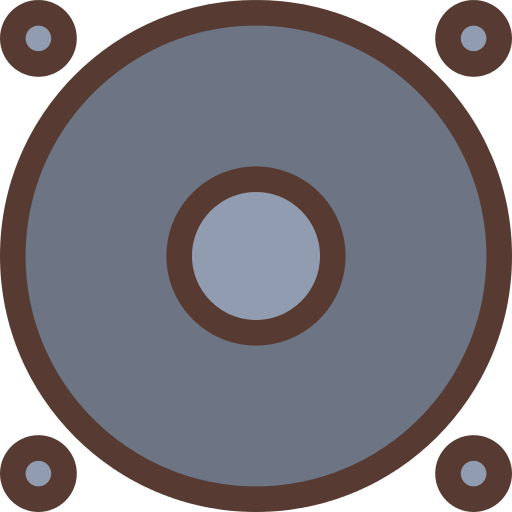 Woofer Subwoofer Png Icon