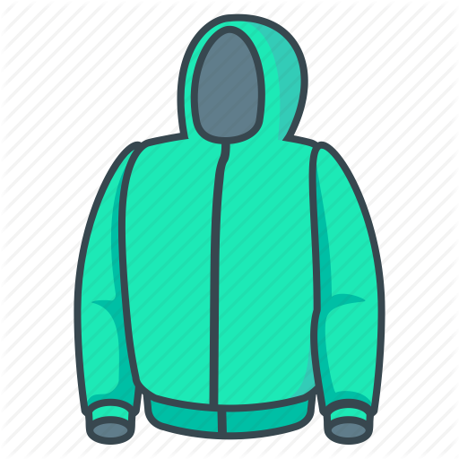 Hood, Hoody, Jacket Icon