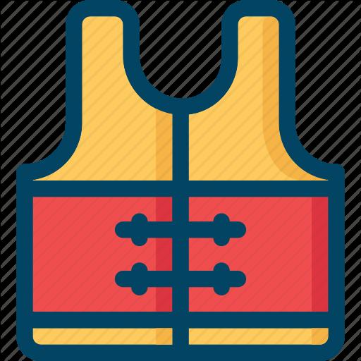 Jacket, Life, Safety, Sea, Vest Icon