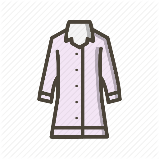 Jacket, Long Coat, Rain Coat Icon