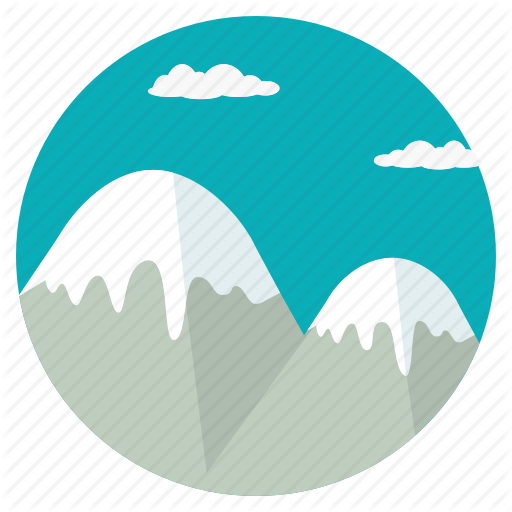 Clouds, Mount, Mountain, Peak, Scenery, Snow, Summit Icon