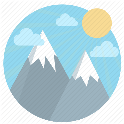 Elevation, Mountain, Peak, Success, Summit, Travel, Vantage Point Icon