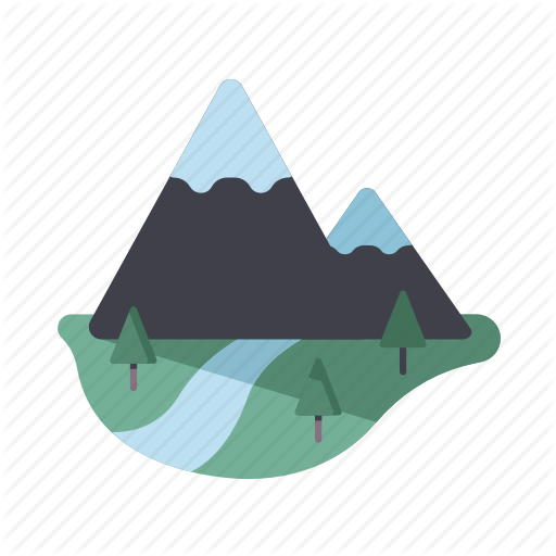 Landscape, Mountain, Nature, Scenery, Summit Icon