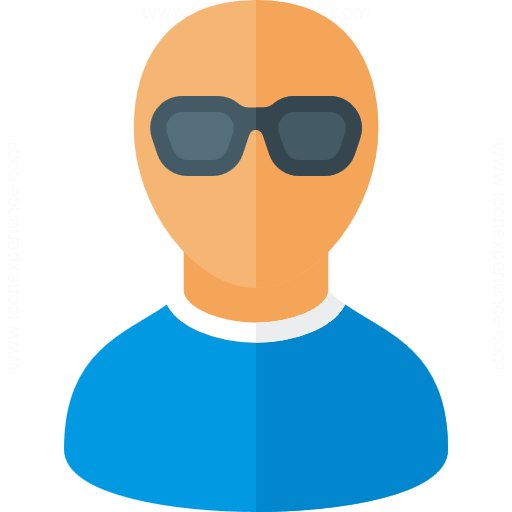 Iconexperience G Collection User Sunglasses Icon