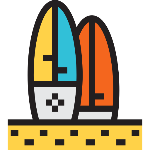 Surfboard Surf Png Icon