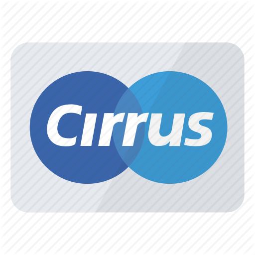 Cirrus, Credit Card, Mean, Method, Payment Icon