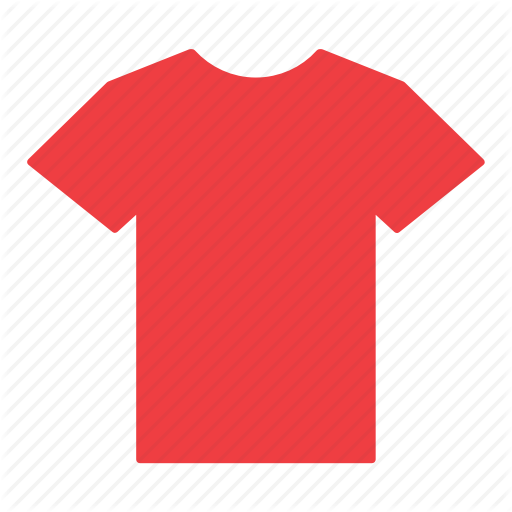 Clothes, Clothing, Jersey, Red, Shirt, T Shirt Icon