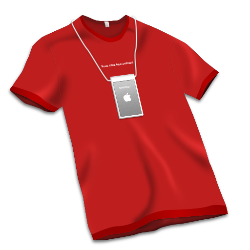 T Shirt Rouge Icon