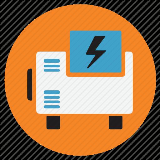 Appliances, Generator, Home, Power Icon