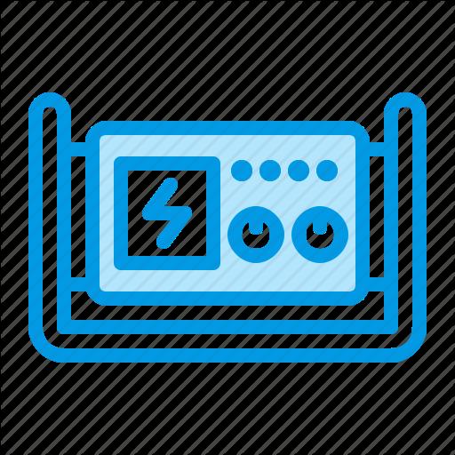 Equipment, Generator, Power, Rental Icon