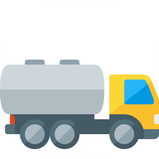 Iconexperience G Collection Tank Truck Icon