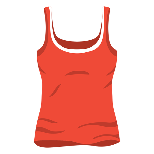 Red Women Tank Top Icon