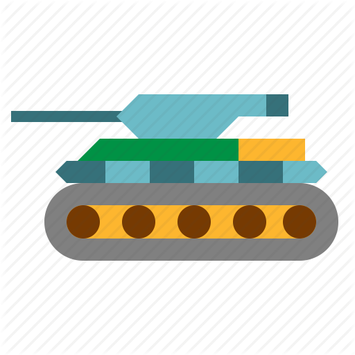 Soldier, Tank, Transportation Icon