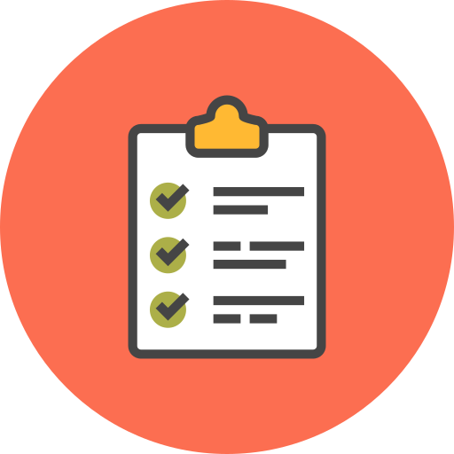 Checklist, List, Tasks, Todo Icon Free Of Flat Line Ecommerce