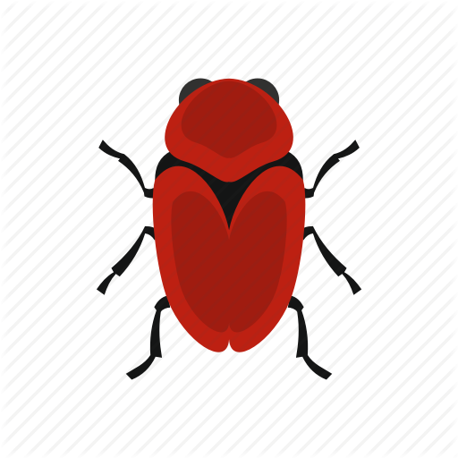 Floral, Flower, Fly, Red Beetle, Spring, Tattoo, Tropical Icon