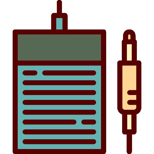 Linear Color Tattoo Studio Elements Icon