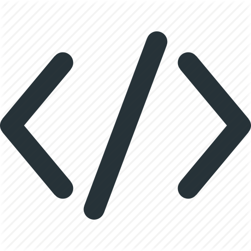 Code, Coding, Computer, Programming, Tech Icon