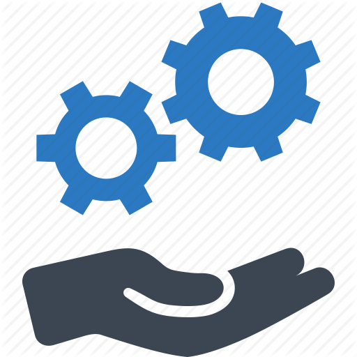 Gear, Settings, Technical Service, Technical Support Icon