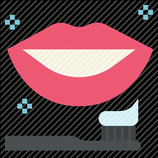 Brush, Dental, Health, Smile, Teeth, Whitening Icon