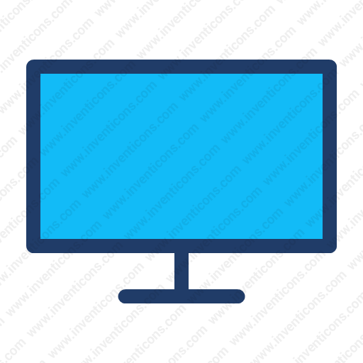 Download Tv,television,monitor Icon Inventicons