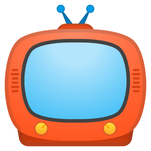 Television Icon Free Of Noto Emoji Objects