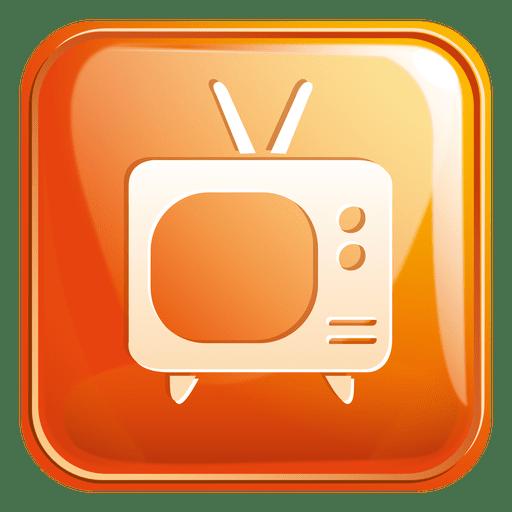 Television Square Icon