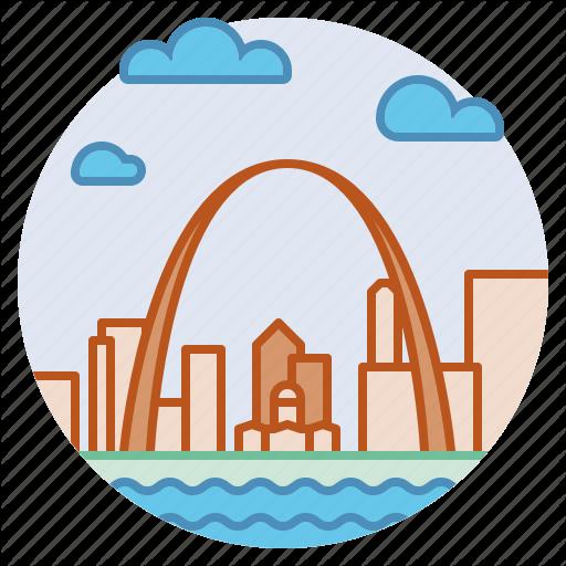 Gateway Arch, Landmark, Missouri, Monument, St Louis Icon