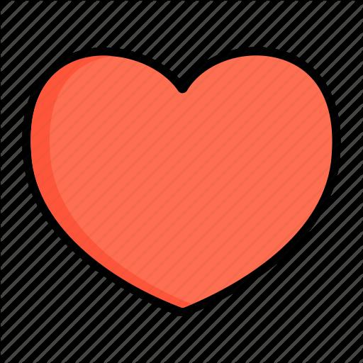 Bosom, Core, Heart, Romance, Soul, Ticker, Valentines Icon
