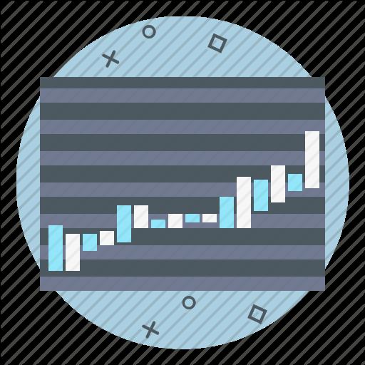 Chart, Data, Stock, Ticker Icon