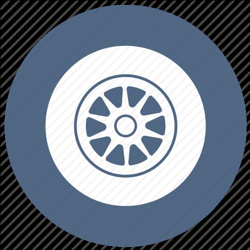 Part, Tire, Tires, Wheel Icon