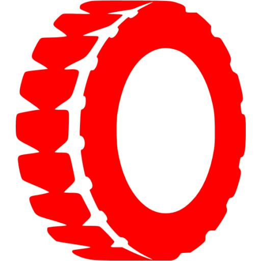 Red Tire Icon