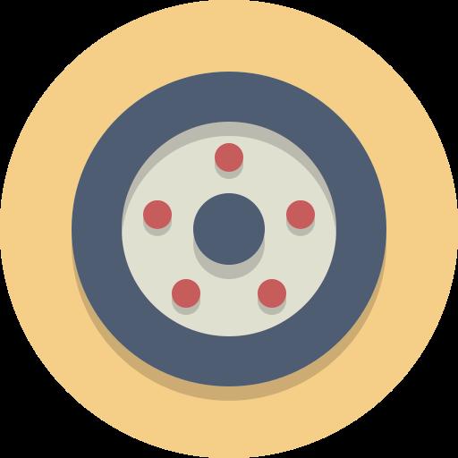 Wheel, Car Wheel, Tire Icon