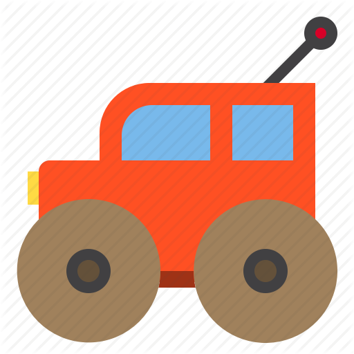 Car, Game, Kid, Play, Toy Icon