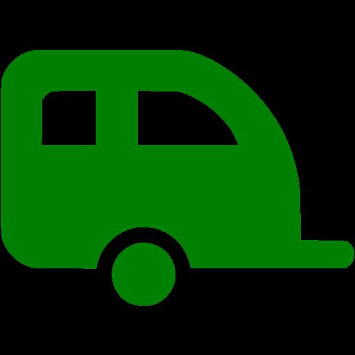 Green Trailer Icon