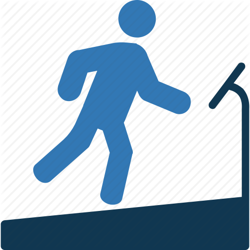 Gym, Stomach Game, Training, Treadmill Exercise Icon