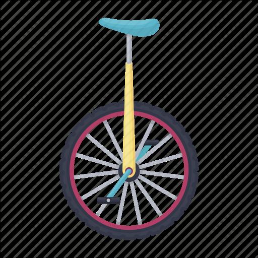 Arena, Circus, Monocycle, Trick, Vehicle, Wheel Icon