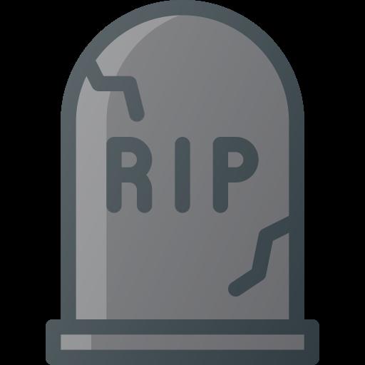 Cemetery, Death, Grave, Rip, Stone Icon