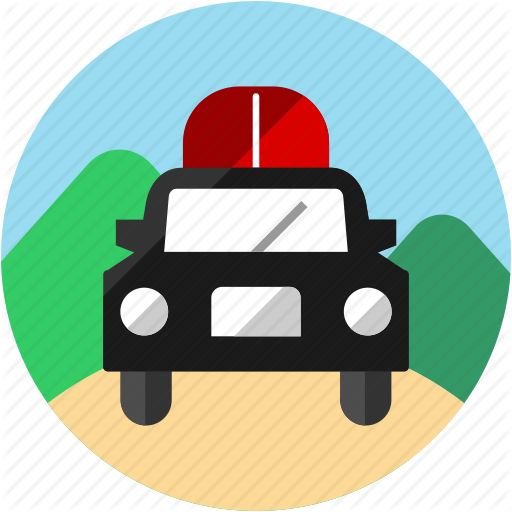 Activities, Car, Mountain, Recreational, Road, Trip, Vehicle Icon
