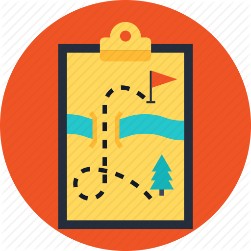 Business, Plan, Strategic, Strategy, Trip Icon