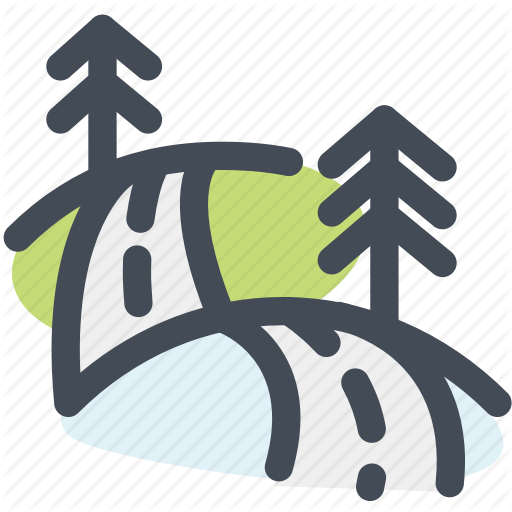 Camping, Hotel, Road, Travel, Traveling, Trip, Way Icon