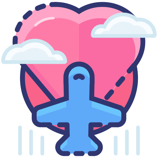 Romantic, Trip Icon Free Of Sugar Sweet Valentine's Day Icons