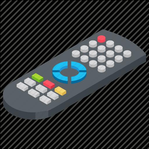 Rc Remote, Remote, Remote Control, Tv Remote, Universal Remote Icon