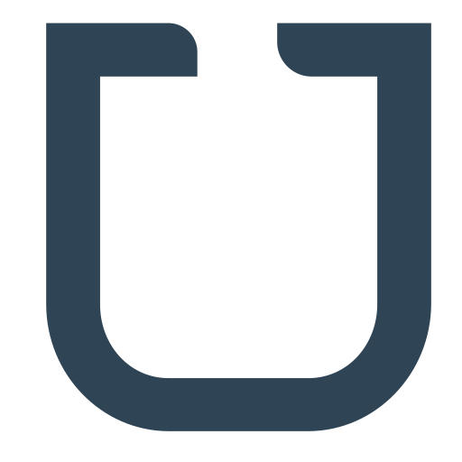 Udacity, Single, Letter, U, Brand Icon Free Of Brands Flat
