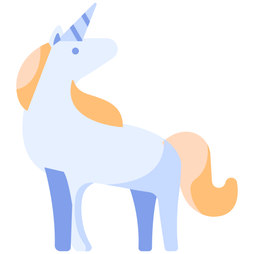 Animal, Cartoon, Fairytale, Fantasy, Horse, Magic, Unicorn Icon