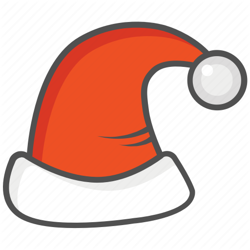 Claus, Hat, Santa Icon