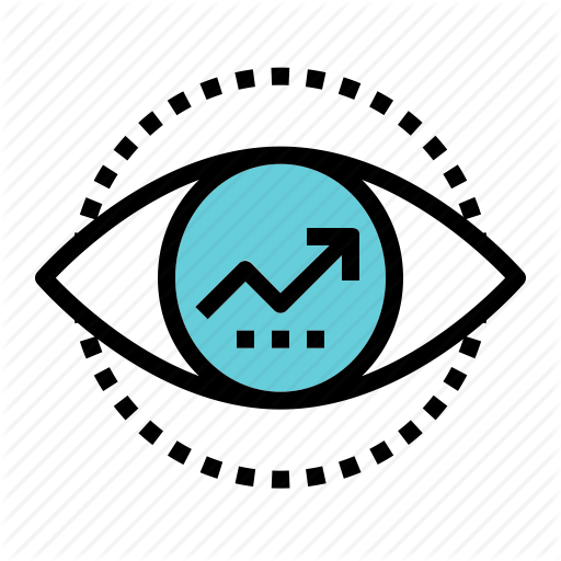 Business, Clear, Company, Eye, Growth, Vision Icon