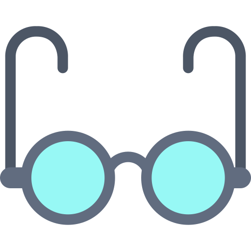 Eye, Glasses, Office, Vision Icon Free Of Education And School