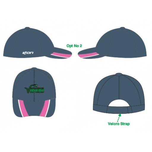 Ribble Valley Vipers Bespoke Cricket Cap