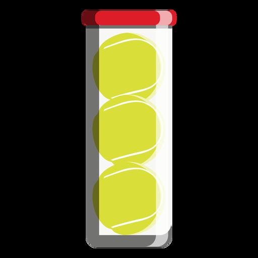 Tennis Ball Tube Icon